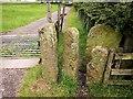 SK1285 : Stile near Ollerbrook by Derek Harper