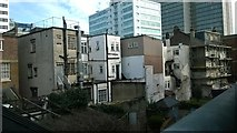 TQ3265 : Croydon: backs of buildings on the High Street, from Wandle Road car park by Christopher Hilton