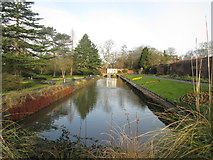 SE3238 : Canal Gardens, Roundhay Park by John Slater