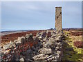SE0593 : Cobscar Mill Chimney, Redmire by Mick Garratt
