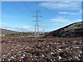 NN6378 : Towers of the Beauly - Denny power line by Richard Law