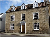 TF0920 : Hurn House in West Street, Bourne, Lincolnshire by Rex Needle