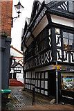 SJ6552 : Nantwich: Castle Street by Christopher Hilton