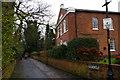 SJ6552 : Nantwich: Monks Lane by Christopher Hilton