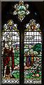 TQ9529 : Stained glass window, Ss Peter & Paul church, Appledore by Julian P Guffogg