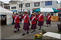 SW8244 : Morris dancers at the Farmers Market, Truro by Ian S