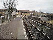 NH1658 : Achnasheen railway station, Highland by Nigel Thompson