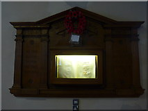 NY2623 : Keswick St John: memorial (2) by Basher Eyre