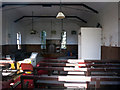 SP6919 : Inside the old chapel at Kingswood by Des Blenkinsopp