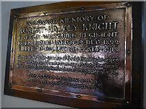 NY2623 : Keswick St John: memorial (5) by Basher Eyre