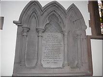 NY2623 : Keswick St John: memorial (7) by Basher Eyre