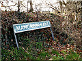 TG2002 : Mangreen Lane sign by Adrian Cable