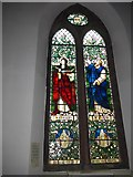 NY2623 : Keswick St John: stained glass window  (5) by Basher Eyre