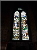 NY2623 : Keswick St John: stained glass window  (9) by Basher Eyre