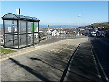 SN4562 : Bus shelter on the A487 by John Baker