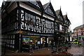 SJ6552 : Nantwich: half-timbered buildings on the Square by Christopher Hilton