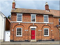 TF0920 : Mswil House at Bourne, Lincolnshire by Rex Needle