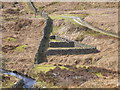 SE0357 : Triangular sheep pen on Barden Moor by John Illingworth