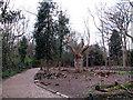 TQ3977 : Deer Park Trail, Greenwich Park by Stephen Craven