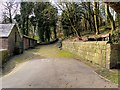 SD6527 : Driveway to Witton House by David Dixon