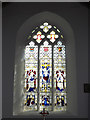 TG1902 : Stained Glass Window of St.Mary's Church by Adrian Cable