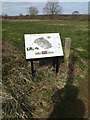 TG1902 : Information Board on Swardeston Common by Adrian Cable