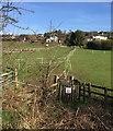 SJ8050 : Boon Hill: footpath off former railway trackbed by Jonathan Hutchins