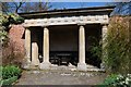 SO8953 : Doric Temple, Spetchley Gardens by Philip Halling
