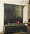 TM3292 : The War Memorial at Ditchingham St. Mary's church by Adrian S Pye