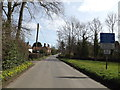 TG2101 : Church Road, Swainsthorpe by Adrian Cable