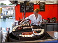 SY6778 : Tasty bratwursts! by Neil Owen