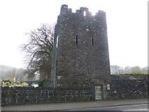 D3115 : Conjuror's Tower, Glenarm by Kenneth  Allen