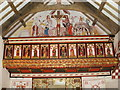 ST1177 : Inside St Teilo's Church at the National History Museum, St Fagans by David Hillas