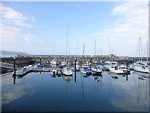 D3115 : The still waters of Glenarm Marina by Kenneth  Allen