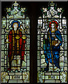TQ4412 : Stained glass window, St Mary's church, Ringmer by Julian P Guffogg