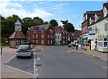 SO8483 : The High Street in Kinver by Mat Fascione
