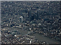 TQ3380 : City of London from the air by Thomas Nugent