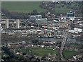 TQ1877 : Kew Green and Kew Bridge from the air by Thomas Nugent