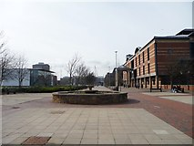 NZ4920 : Pedestrian precinct, Russell Street, Middlesbrough by Christine Johnstone