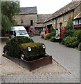 SP1620 : Car hedge or hedge car, Bourton-on-the-Water by Jaggery
