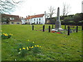 NZ4061 : Whitburn village green by Malc McDonald