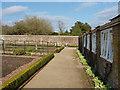 SU8612 : Walled gardens, West Dean by Alan Hunt