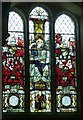 TQ0198 : Stained Glass Window, Bedford Chapel, St Michael's, Chenies by Rob Farrow