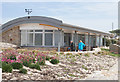 SV9010 : The new Information Centre, Porthcressa Beach by John Rostron