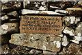 NX5852 : Builders of Dry Stane Dyke by Billy McCrorie