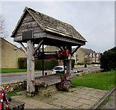SP0228 : Victorian cider press, Winchcombe by Jaggery