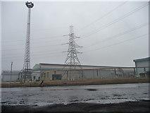 NZ5522 : Teesside Steelworks, Lackenby by Christine Johnstone