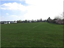 SJ8545 : Newcastle-under-Lyme School playing fields by Jonathan Hutchins