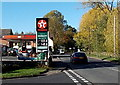 SO8540 : Early November 2013 Texaco fuel prices in Upton-upon-Severn by Jaggery