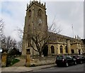SP0228 : Church clock, Winchcombe by Jaggery